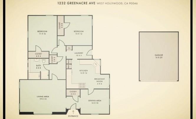 greenacre floor plan sepia