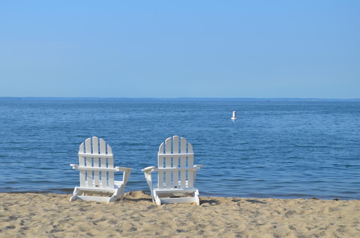 Beach photo Darien