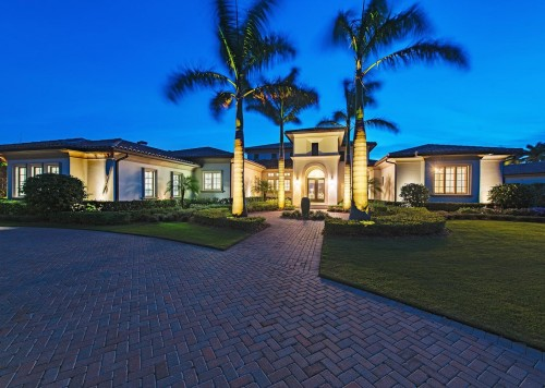 16961 Sud Cortile Drive Naples-large-002-22-front night-1499x1000-72dpi