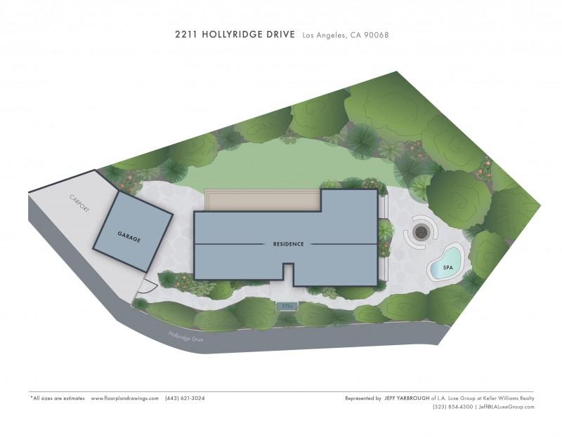 2211 Hollyridge Site map jpg