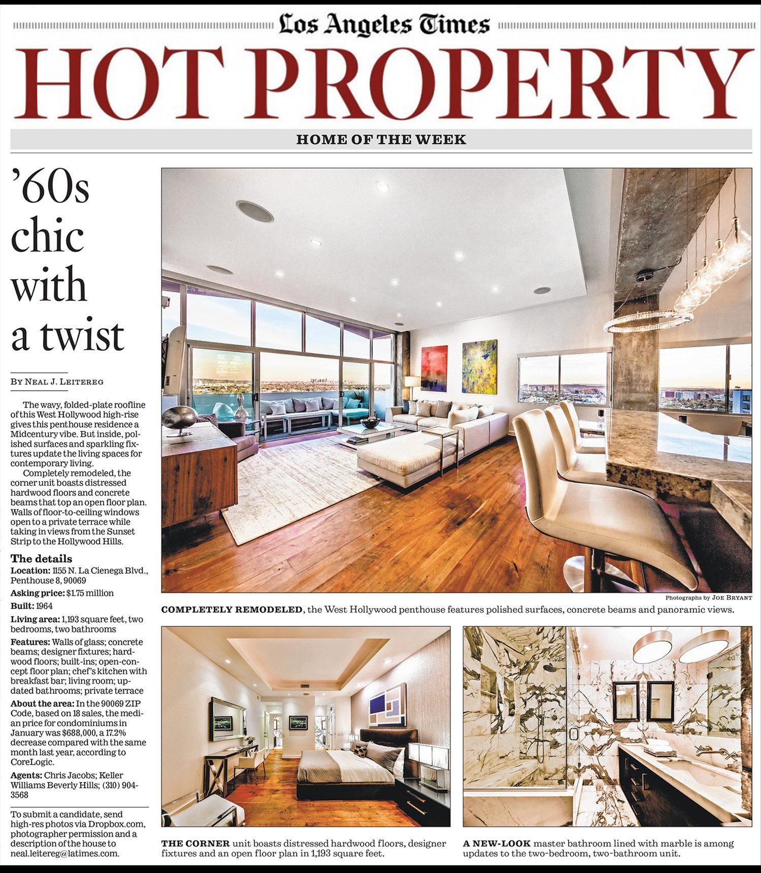 LA TIMES HOT PROPERTY