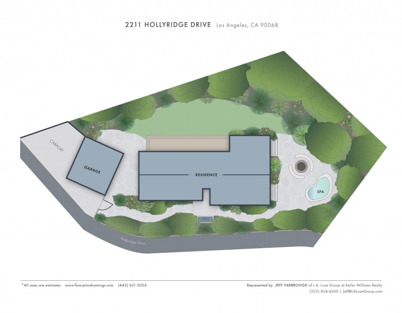 2211 Hollyridge Site map jpg