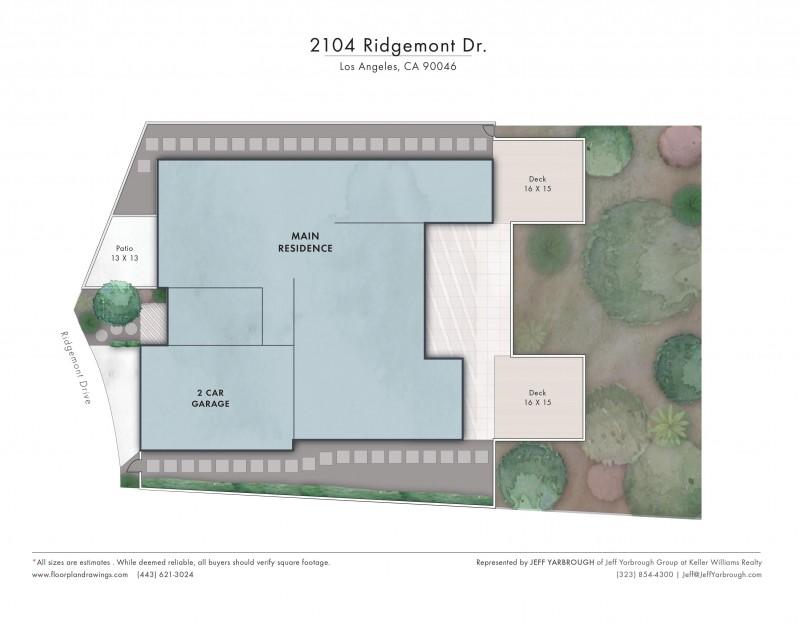 2104 Ridgemont Sitemap