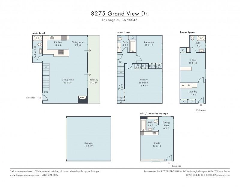 8275 Grand View Floor Plan